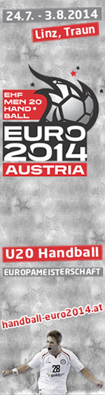 EHF Men 20 Handball Euro 2014 Austria