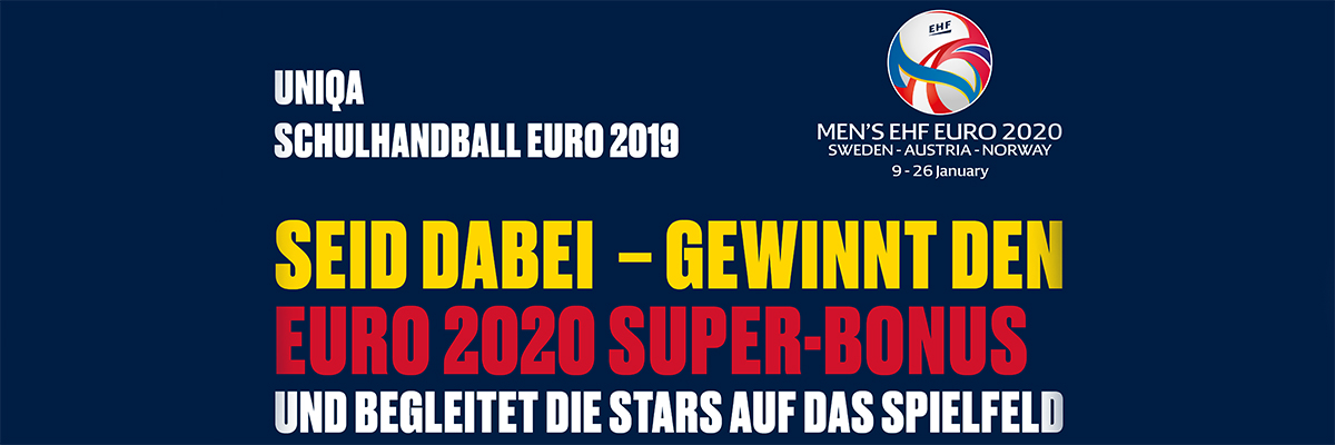 UNIQA Schulhandball EURO 2019